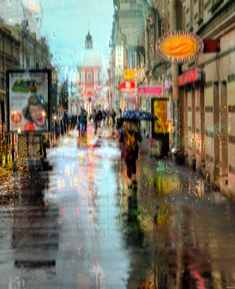 Rainy Saint-Petersburg: Photographic art by Eduard Gordeev - 1