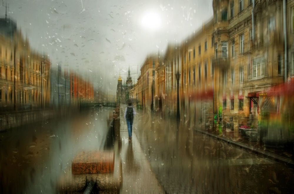 Rainy Saint-Petersburg: Photographic art by Eduard Gordeev - 10