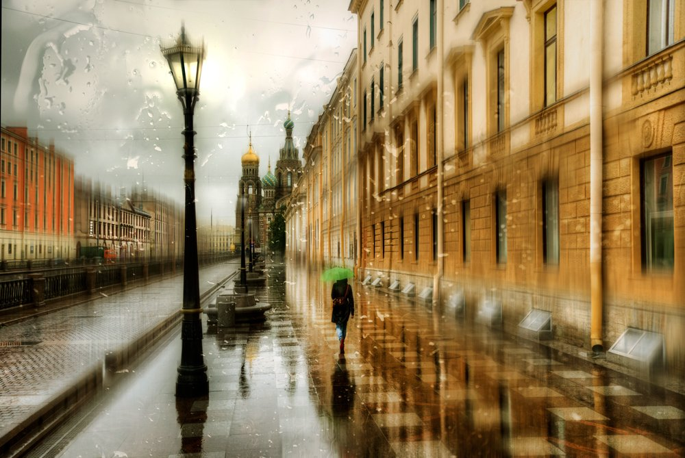 Rainy Saint-Petersburg: Photographic art by Eduard Gordeev - 11