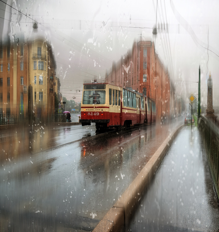 Rainy Saint-Petersburg: Photographic art by Eduard Gordeev - 12
