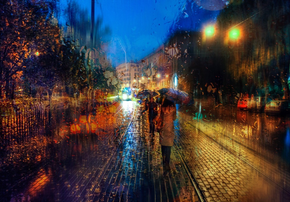 Rainy Saint-Petersburg: Photographic art by Eduard Gordeev - 13