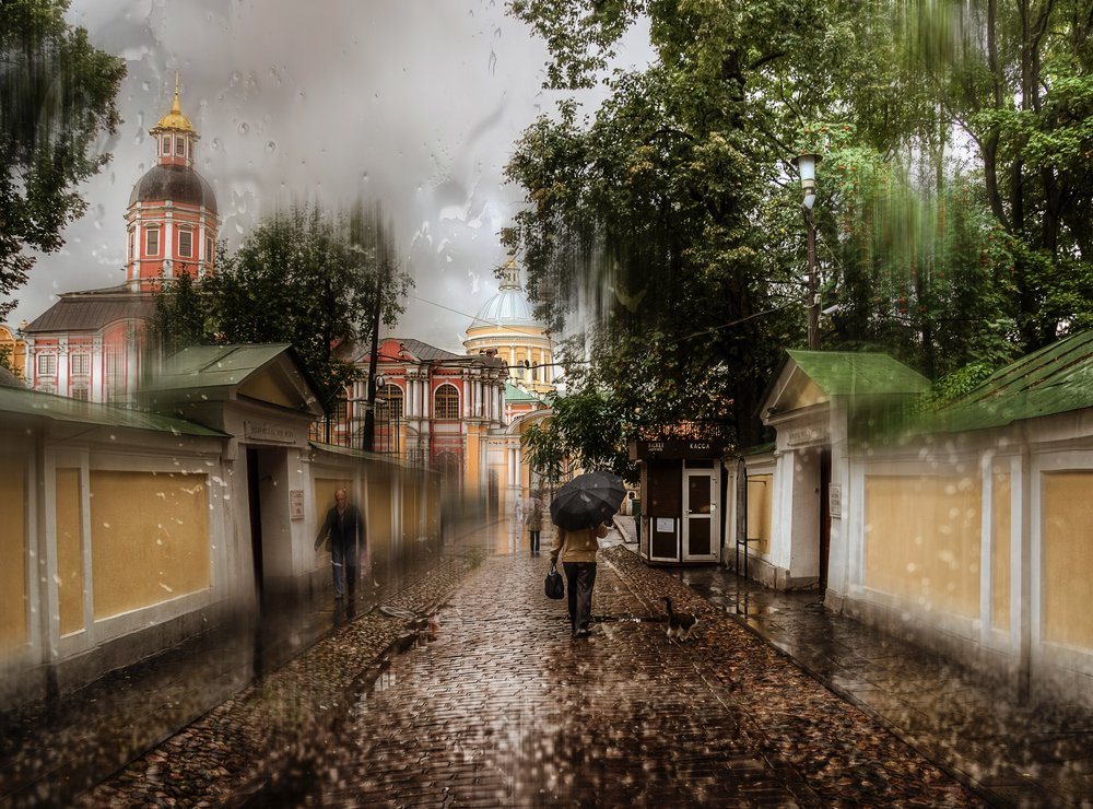 Rainy Saint-Petersburg: Photographic art by Eduard Gordeev - 14