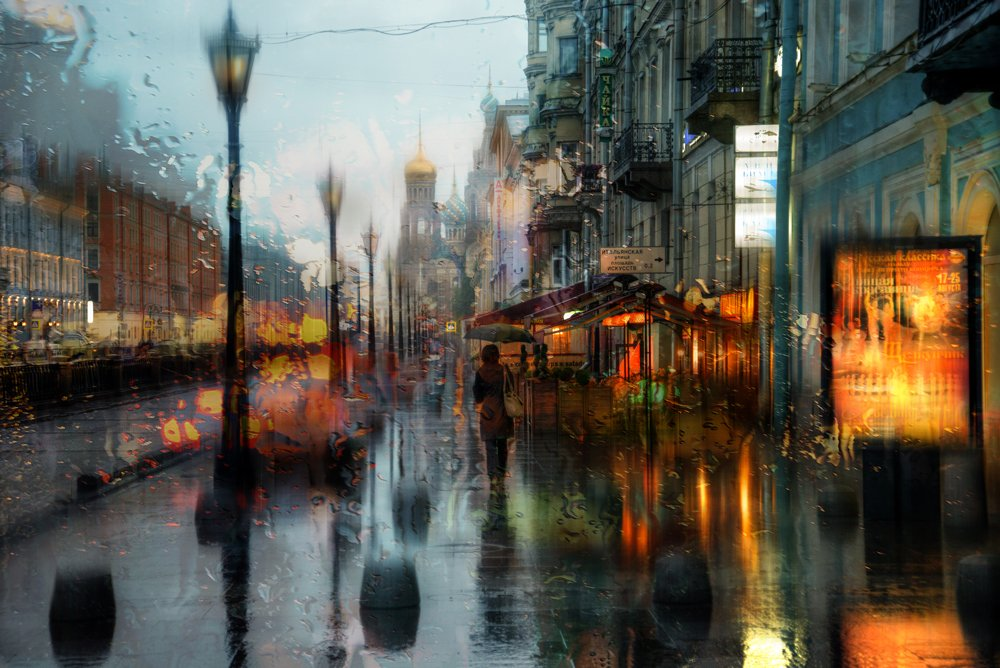 Rainy Saint-Petersburg: Photographic art by Eduard Gordeev - 15