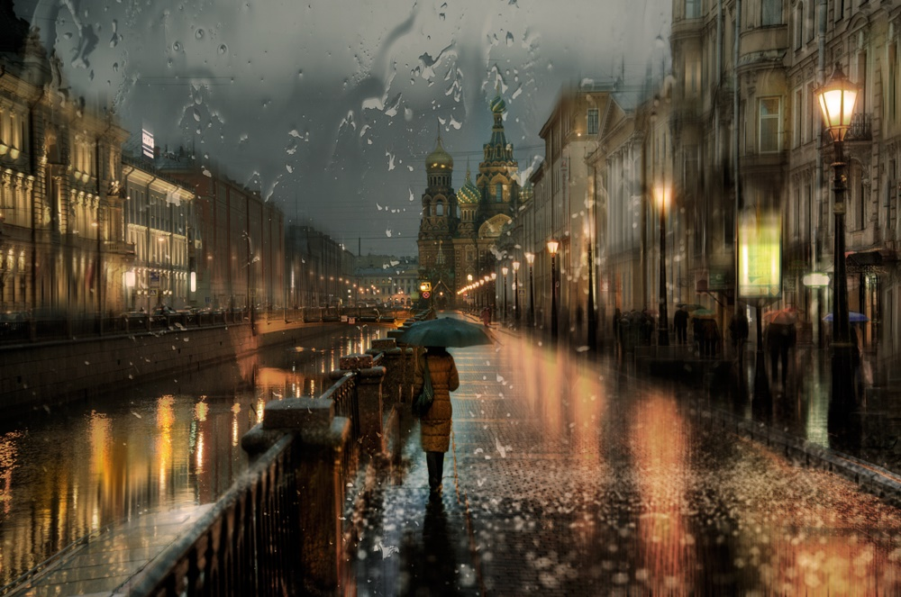 Rainy Saint-Petersburg: Photographic art by Eduard Gordeev - 16