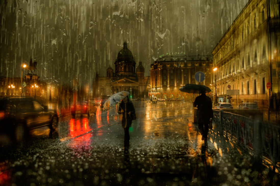 Rainy Saint-Petersburg: Photographic art by Eduard Gordeev - 18