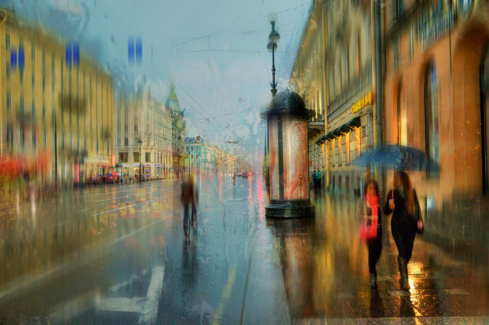 Rainy Saint-Petersburg: Photographic art by Eduard Gordeev - 2