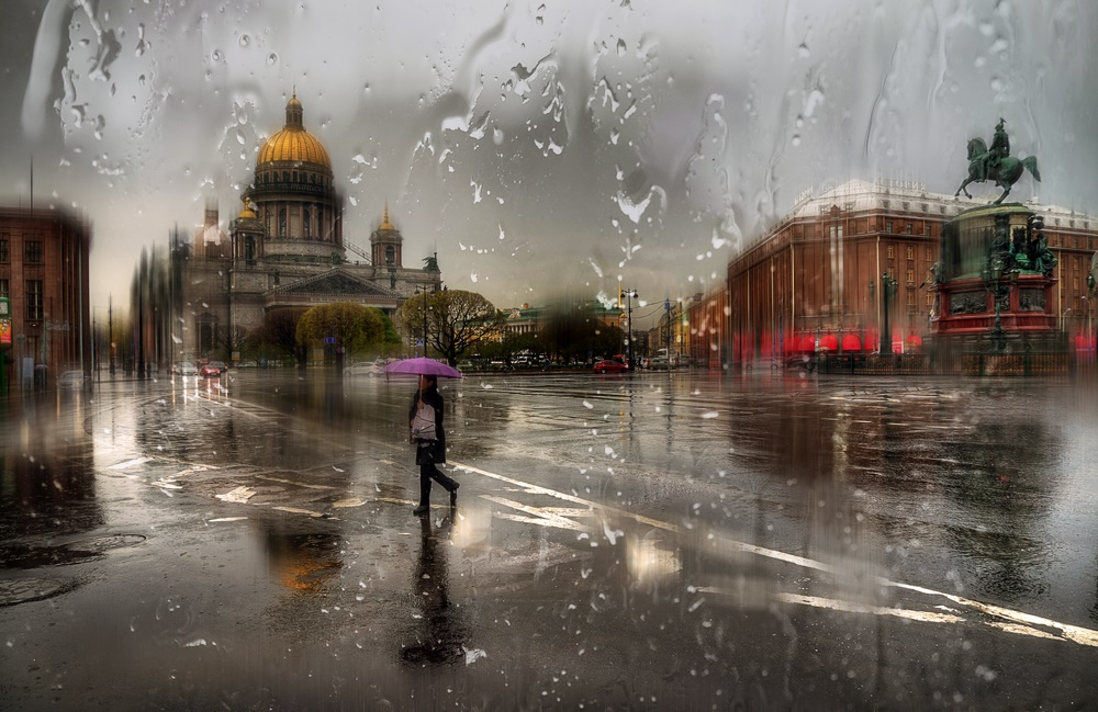 Rainy Saint-Petersburg: Photographic art by Eduard Gordeev - 20