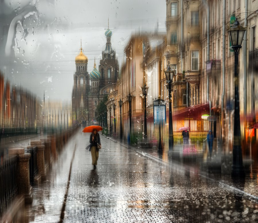 Rainy Saint-Petersburg: Photographic art by Eduard Gordeev - 21