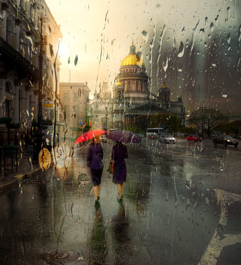 Rainy Saint-Petersburg: Photographic art by Eduard Gordeev - 22