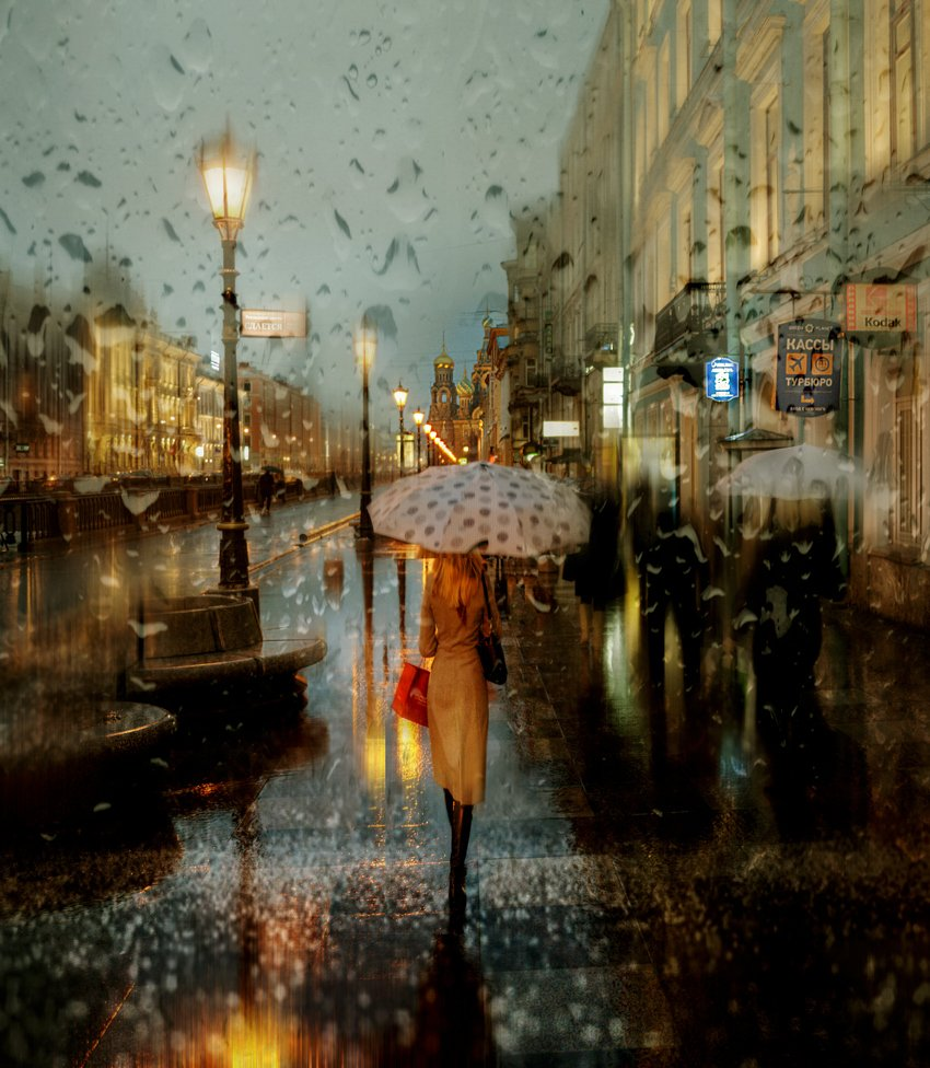 Rainy Saint-Petersburg: Photographic art by Eduard Gordeev - 24