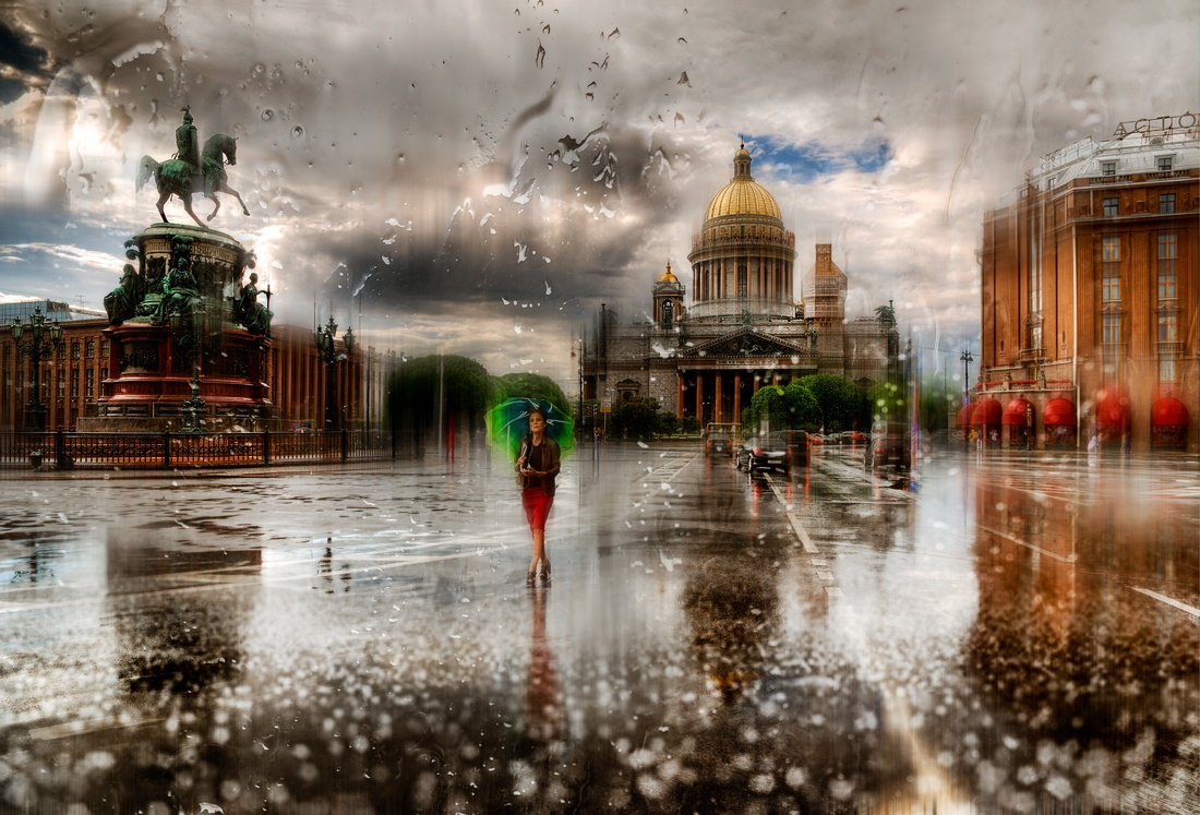 Rainy Saint-Petersburg: Photographic art by Eduard Gordeev - 25