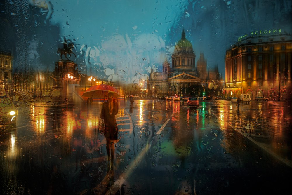 Rainy Saint-Petersburg: Photographic art by Eduard Gordeev - 26