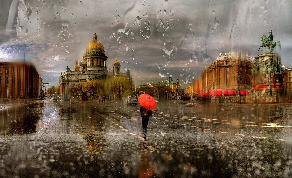 Rainy Saint-Petersburg: Photographic art by Eduard Gordeev - 27