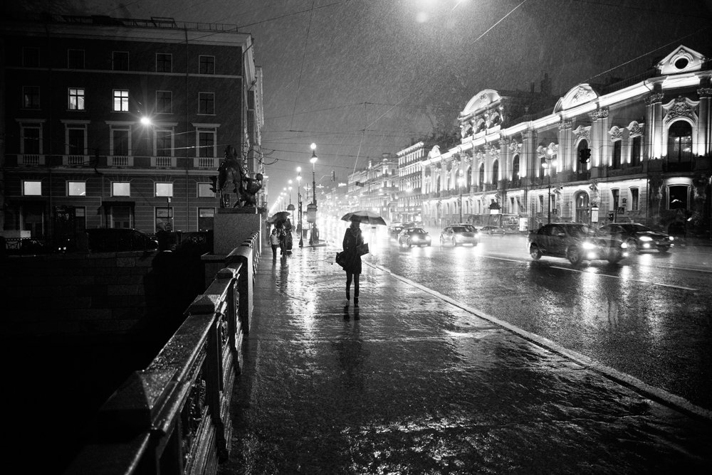 Rainy Saint-Petersburg: Photographic art by Eduard Gordeev - 28