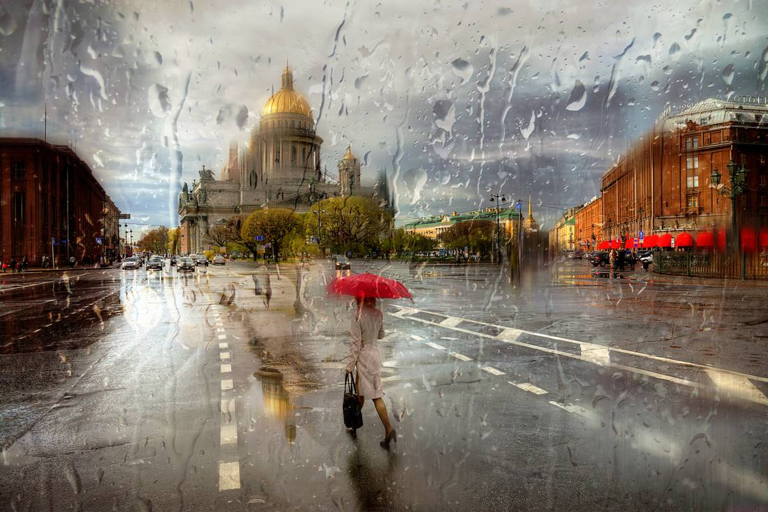 Rainy Saint-Petersburg: Photographic art by Eduard Gordeev - 30
