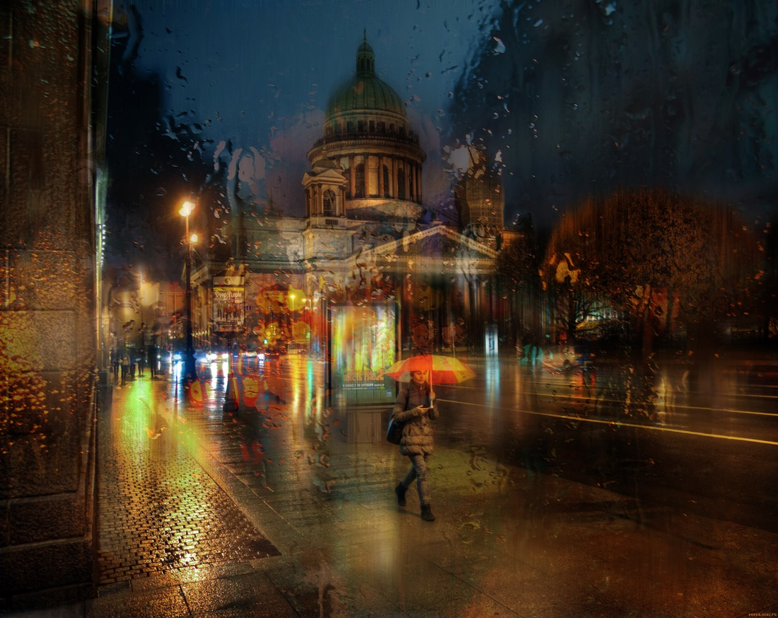 Rainy Saint-Petersburg: Photographic art by Eduard Gordeev - 31