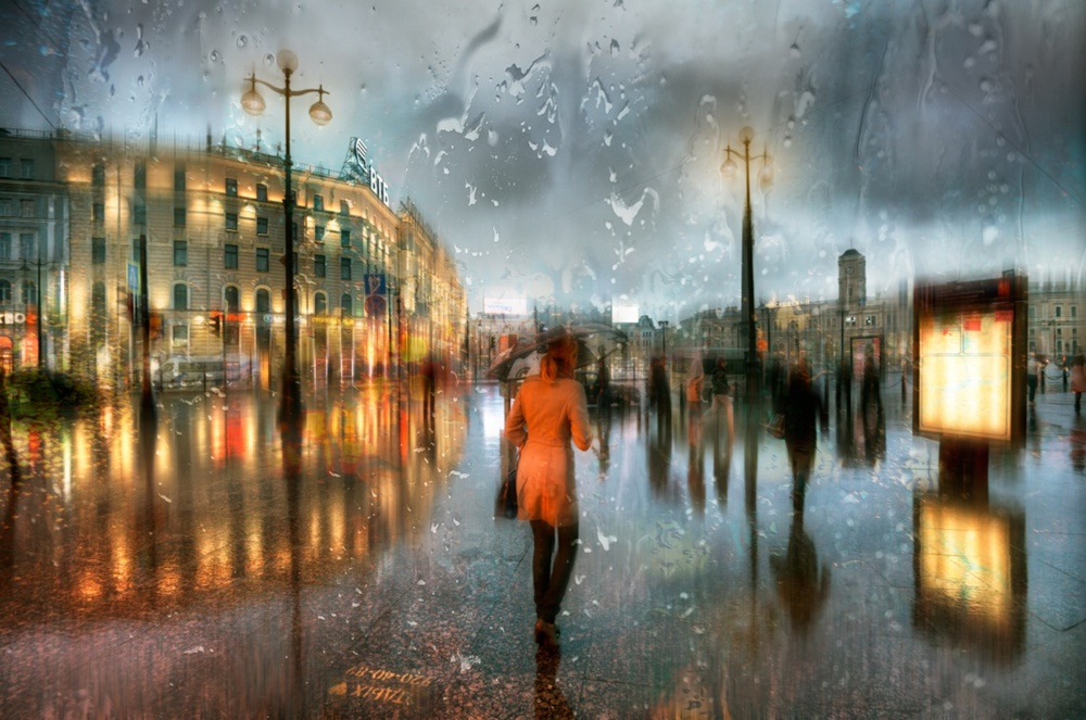 Rainy Saint-Petersburg: Photographic art by Eduard Gordeev - 32