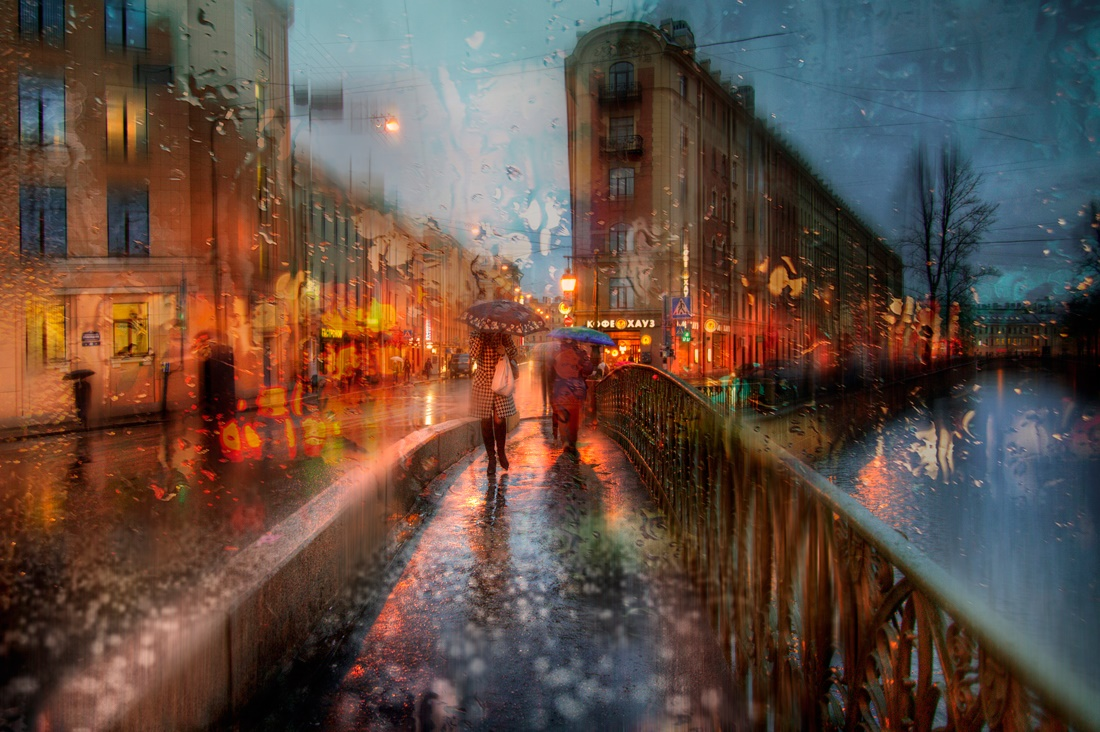 Rainy Saint-Petersburg: Photographic art by Eduard Gordeev - 33