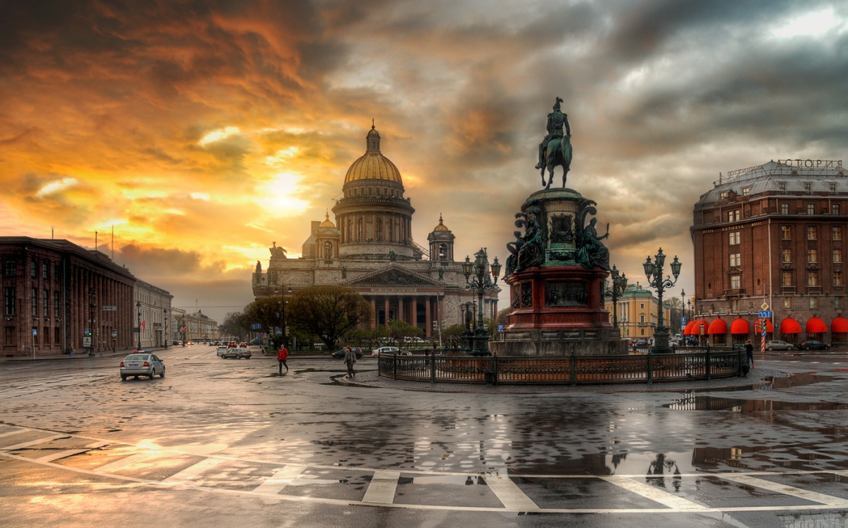 Rainy Saint-Petersburg: Photographic art by Eduard Gordeev - 34