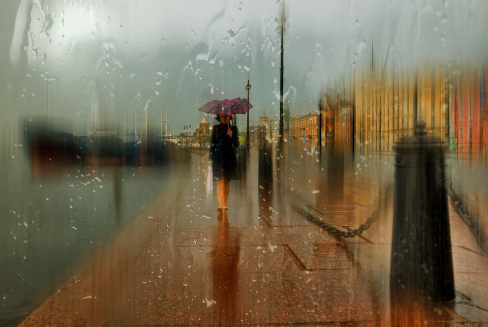 Rainy Saint-Petersburg: Photographic art by Eduard Gordeev - 4