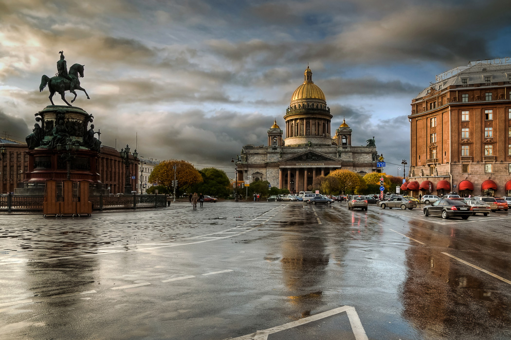 Rainy Saint-Petersburg: Photographic art by Eduard Gordeev - 6