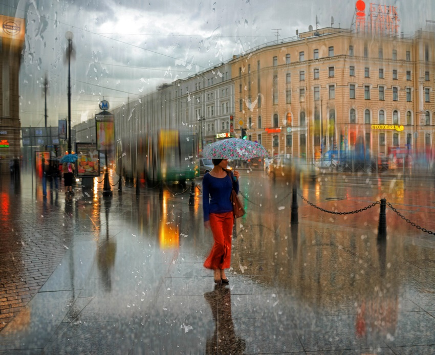Rainy Saint-Petersburg: Photographic art by Eduard Gordeev - 7