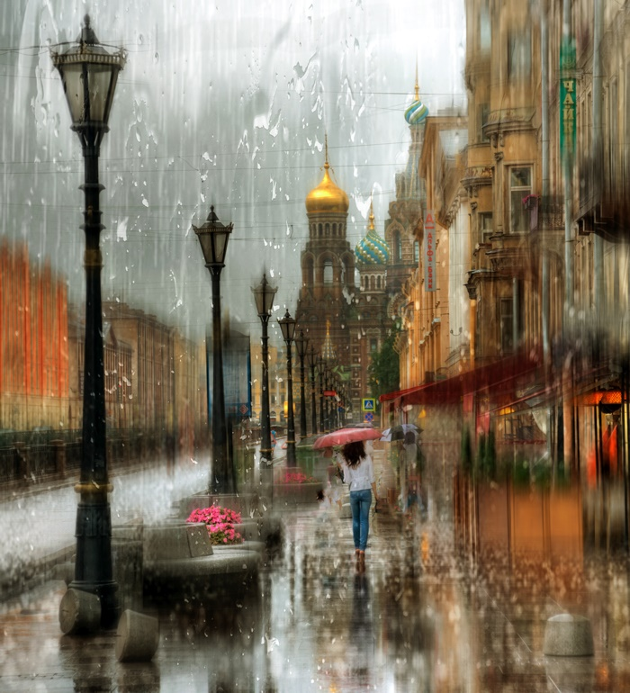 Rainy Saint-Petersburg: Photographic art by Eduard Gordeev - 8