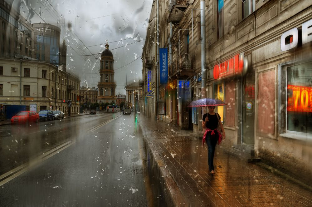Rainy Saint-Petersburg: Photographic art by Eduard Gordeev - 9