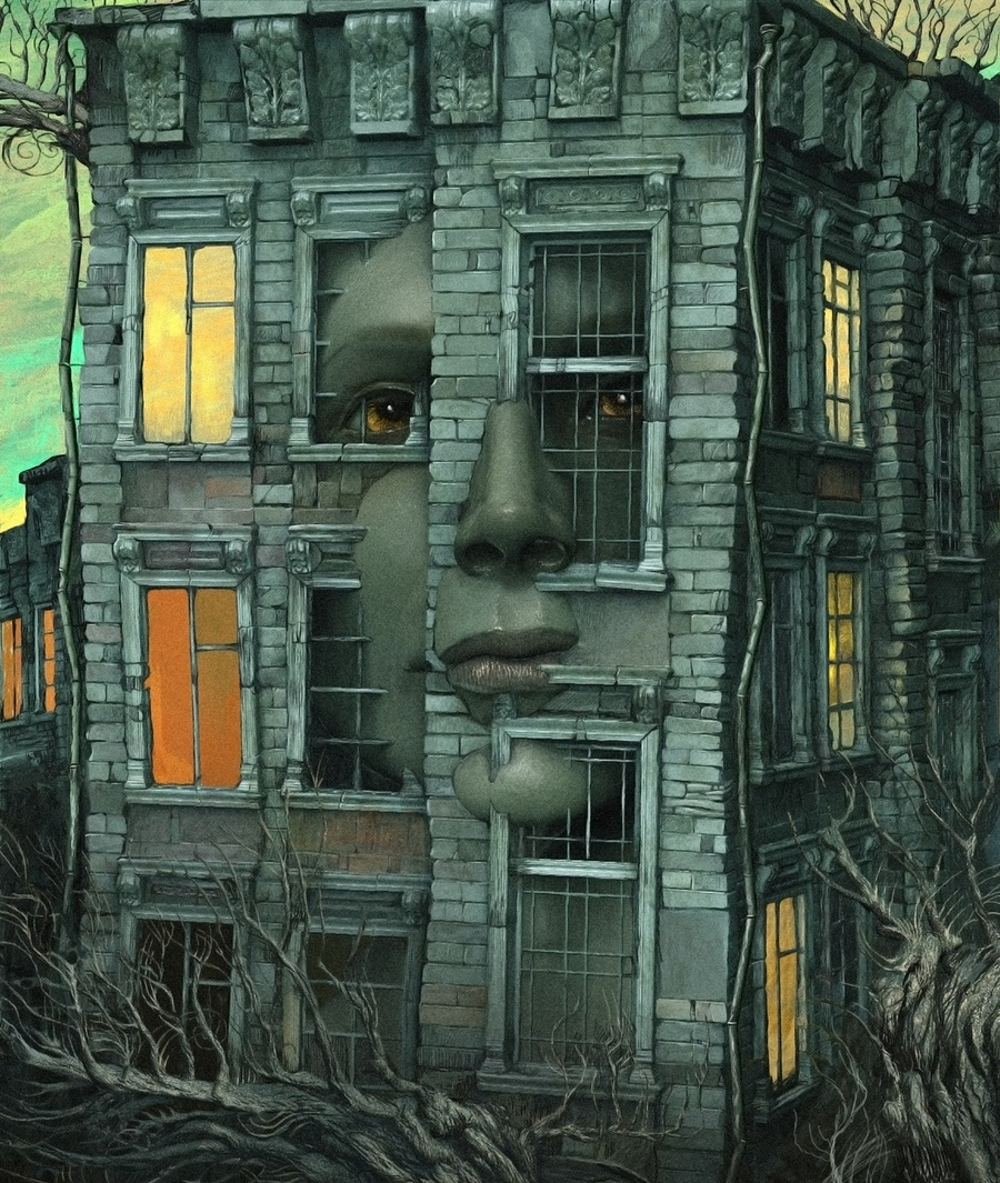 Bleak surrealistic paintings by Russian artist Andrew Ferez - 10
