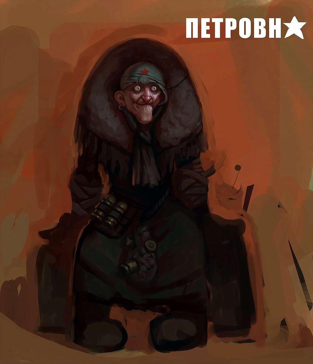 Harsh Russian post-apocalyptic grannies by Eduard Nabiullin - 11