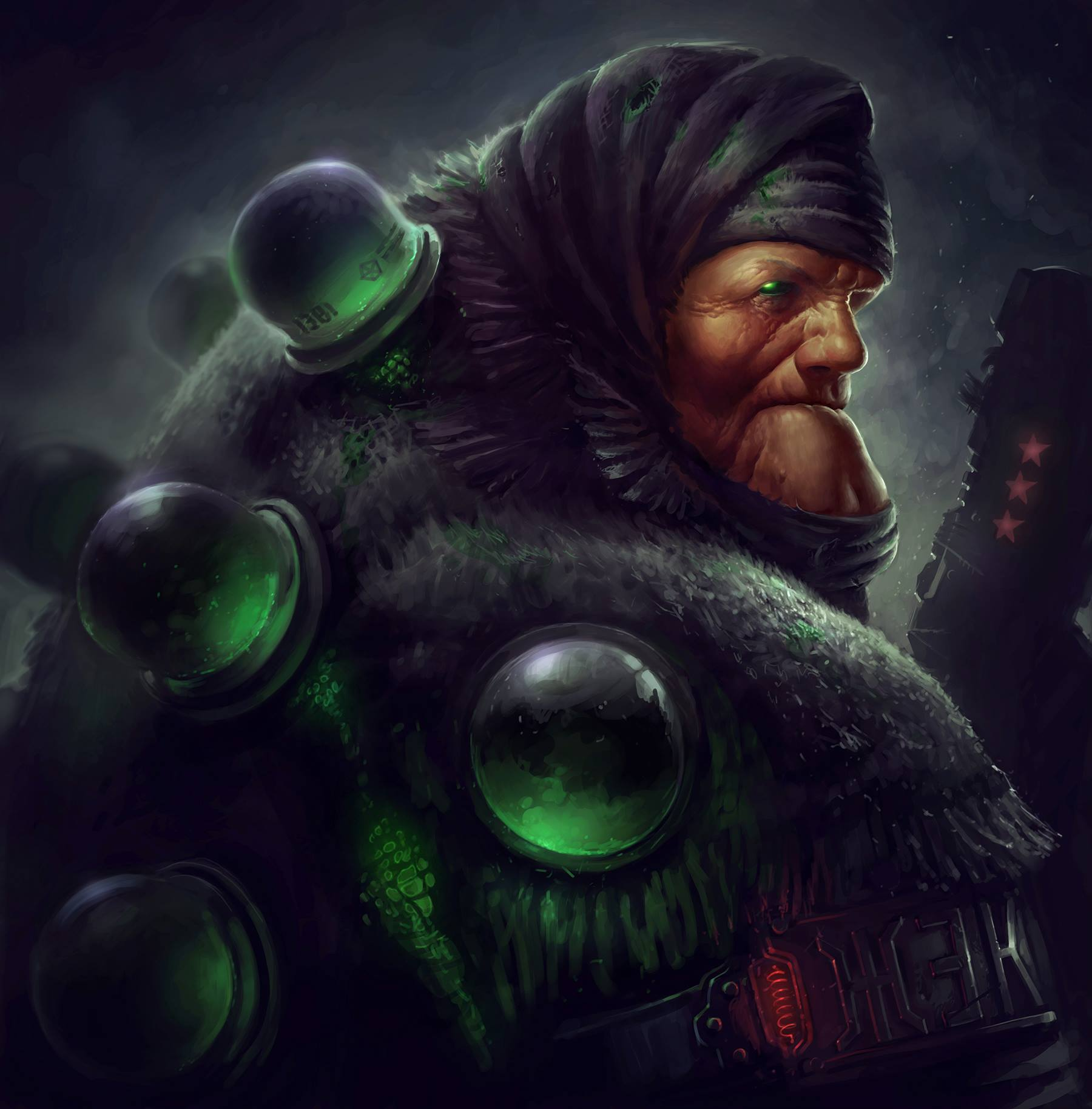 Harsh Russian post-apocalyptic grannies by Eduard Nabiullin - 8