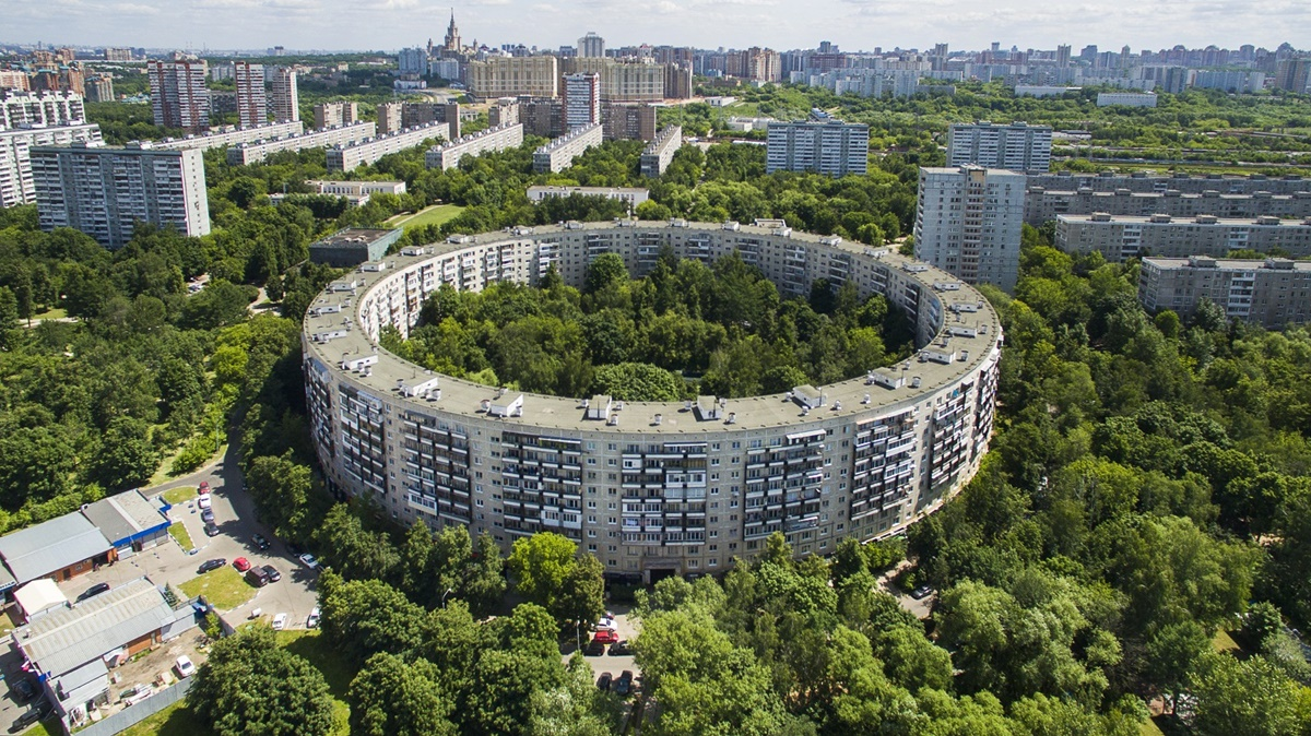 Russian unique architecture which looks better from above - 2