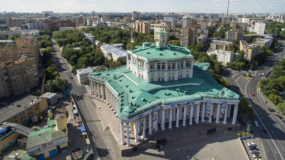 Russian unique architecture which looks better from above - 7