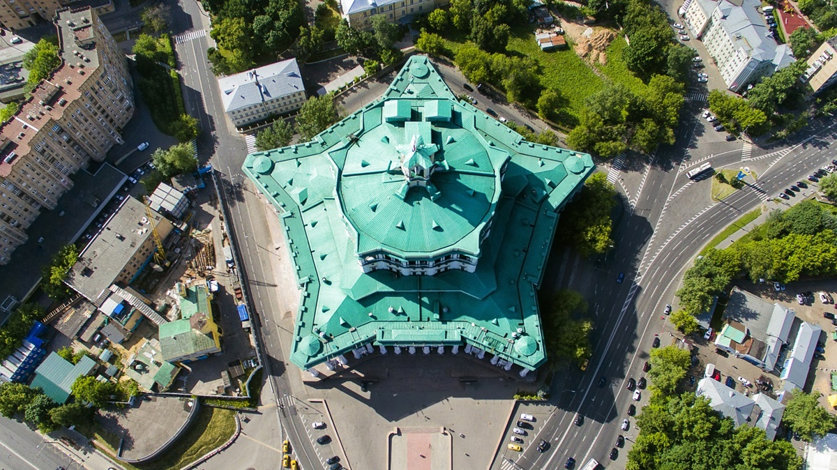Russian unique architecture which looks better from above - 9