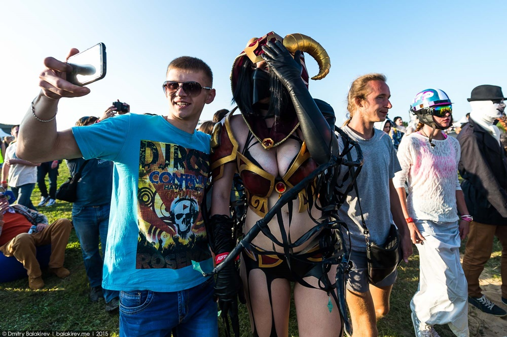 Russian Cosplay: Fans of comics at Alfa Future People Festival - 15