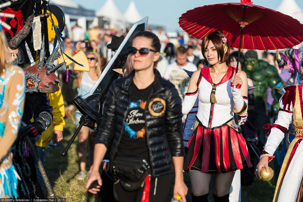 Russian Cosplay: Fans of comics at Alfa Future People Festival - 20