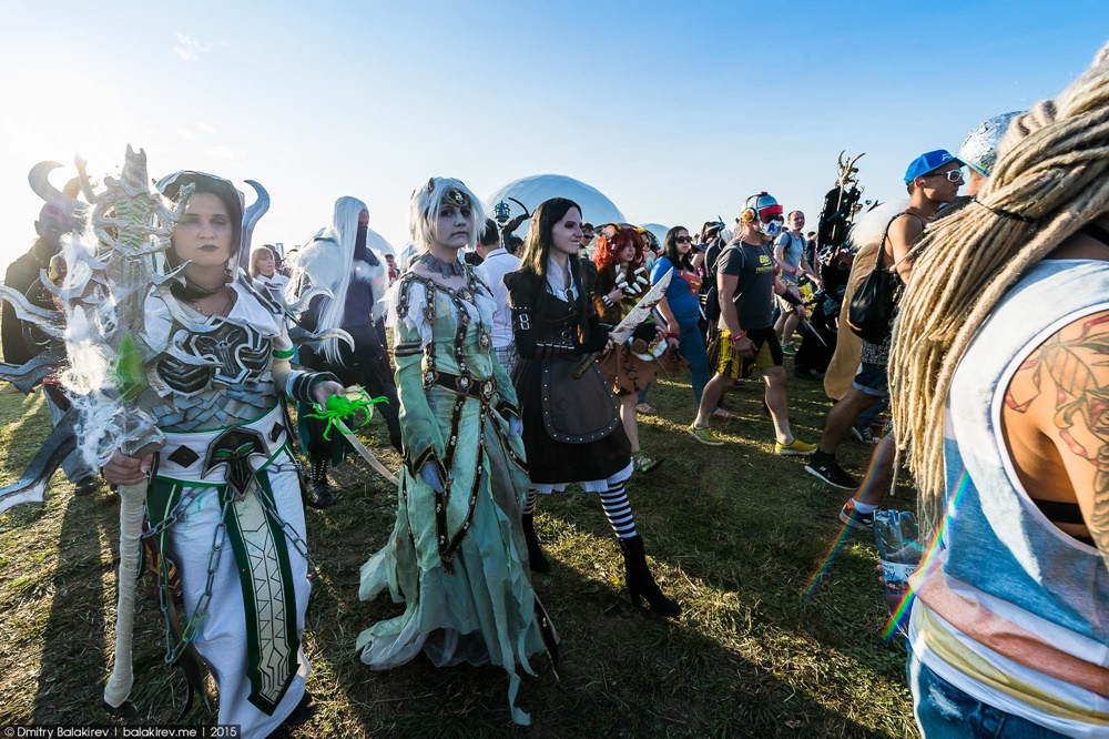 Russian Cosplay: Fans of comics at Alfa Future People Festival - 4