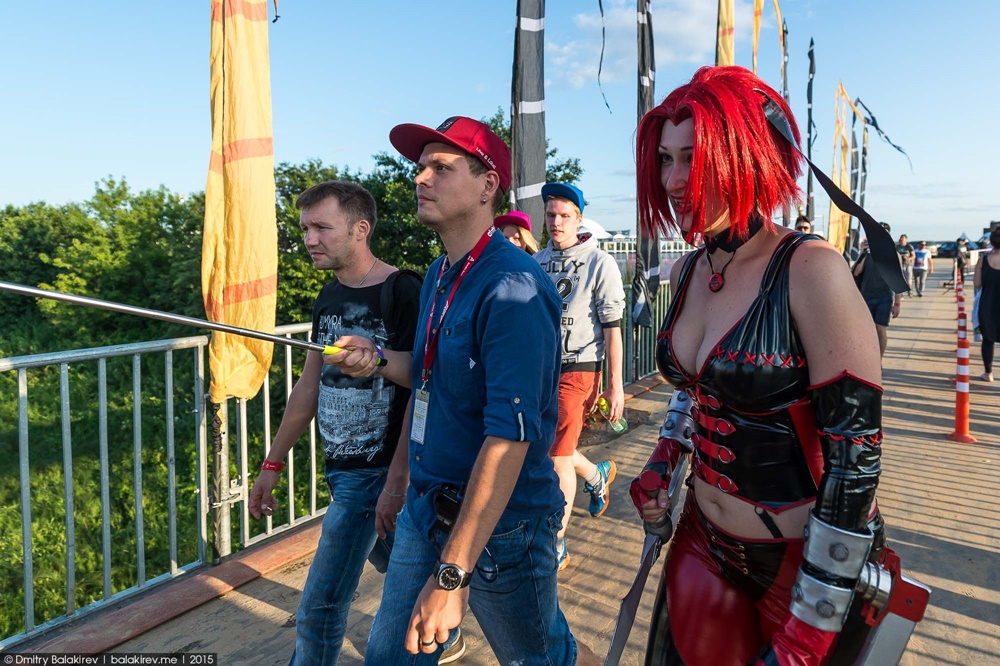 Russian Cosplay: Fans of comics at Alfa Future People Festival - 8