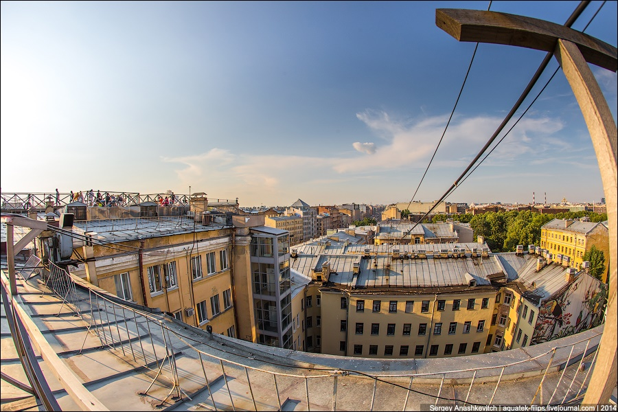 Above the city: Walking on the roofs in Saint Petersburg - 8