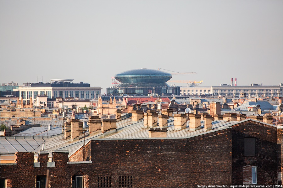 Above the city: Walking on the roofs in Saint Petersburg - 9