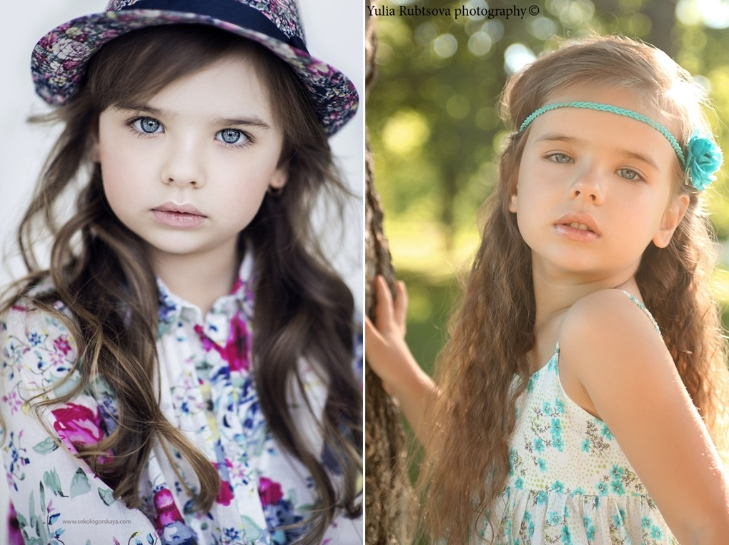 Adult childhood: Big modeling career of little Russian kids. Sofia Fanta - 1