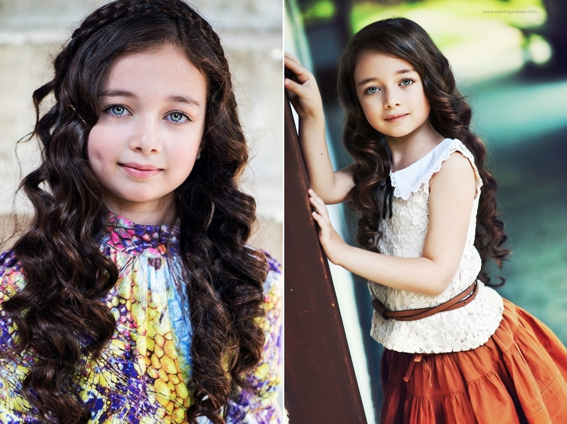Adult childhood: Big modeling career of little Russian kids. Margarita Drugal - 1