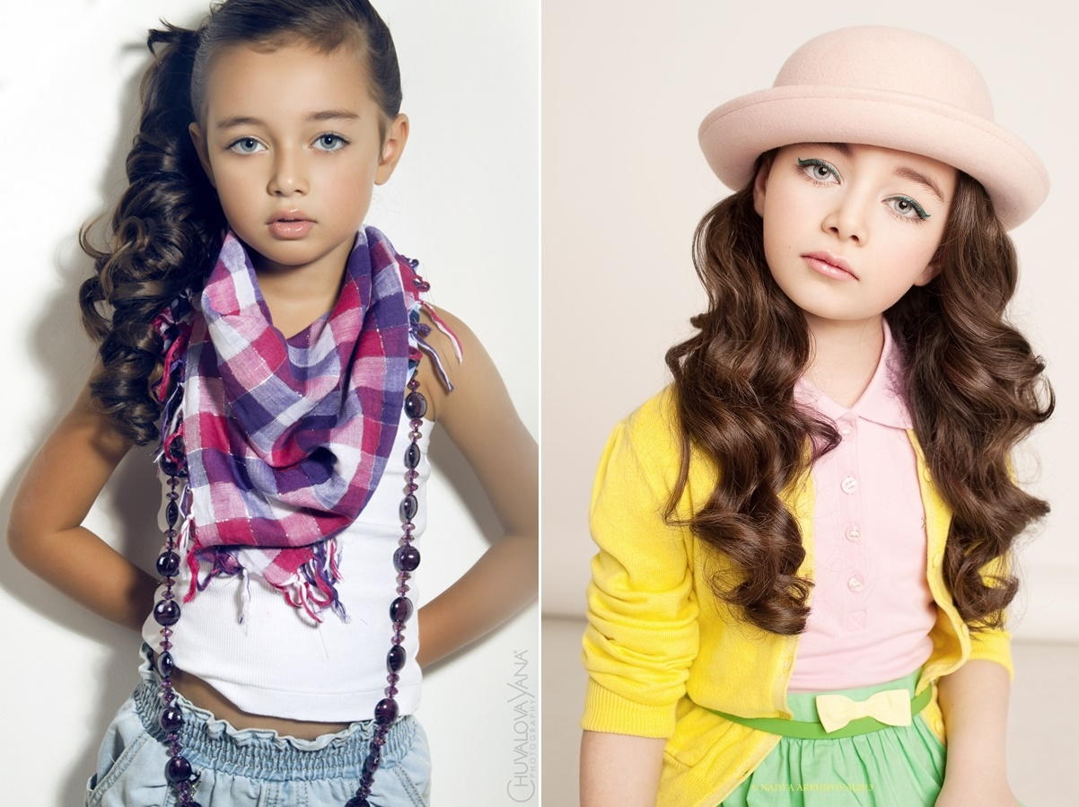 Adult childhood: Big modeling career of little Russian kids. Margarita Drugal - 2