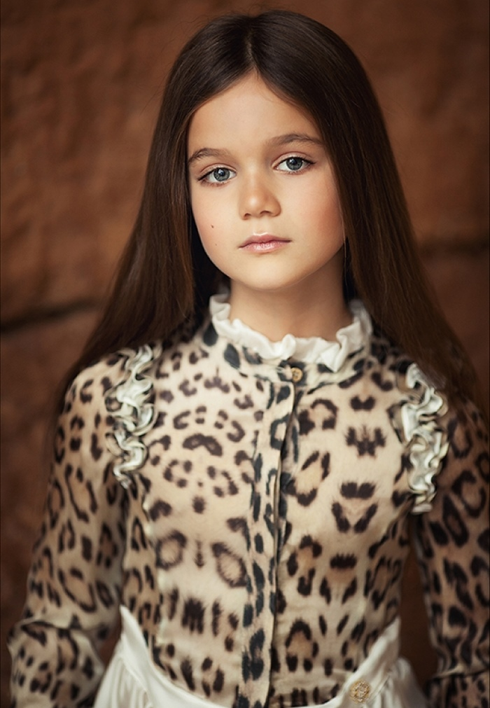 Adult childhood: Big modeling career of little Russian kids. Sofya Grigoryan - 1