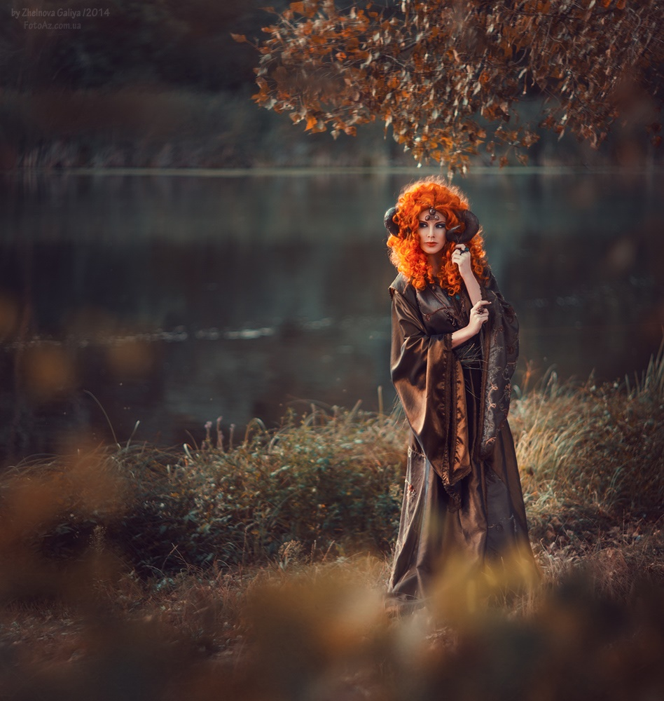 Fascinating portraits by the photographer Galiya Zhelnova - 1