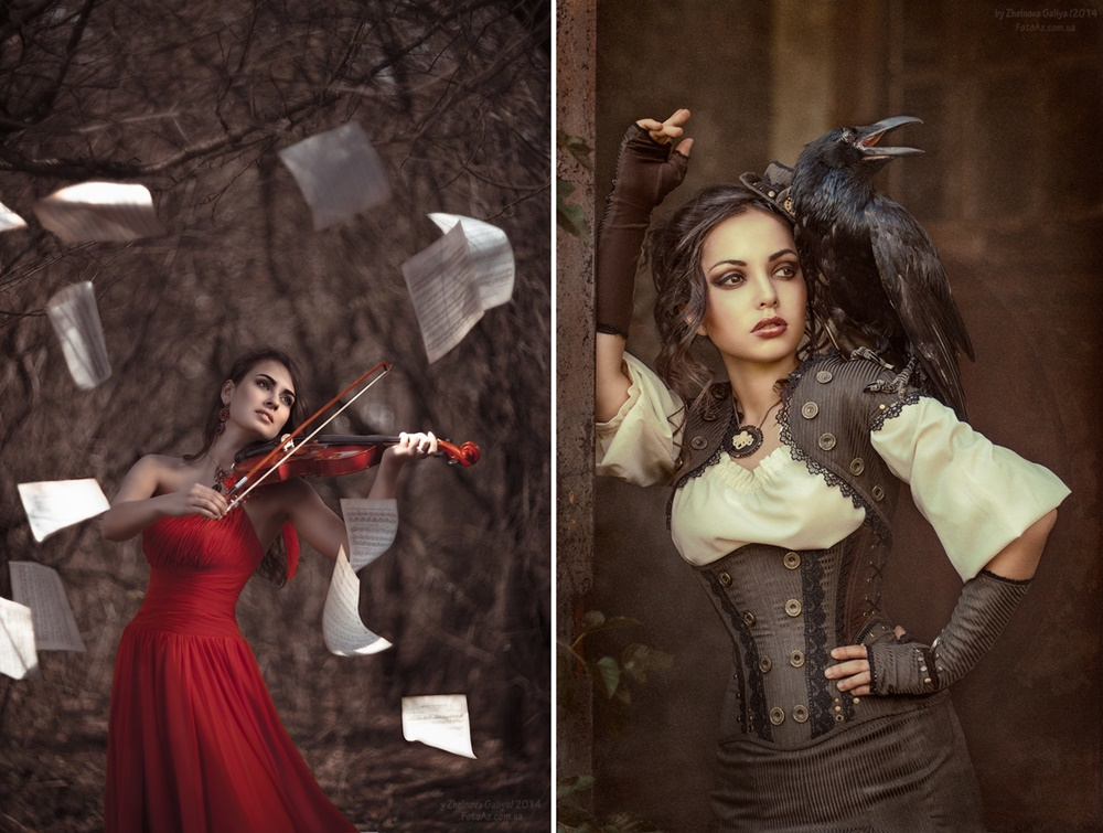 Fascinating portraits by the photographer Galiya Zhelnova - 10