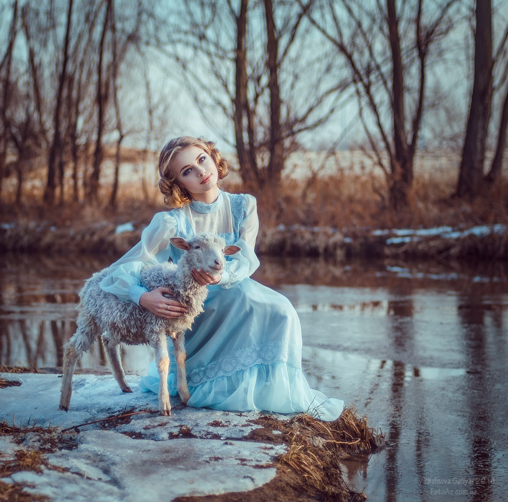 Fascinating portraits by the photographer Galiya Zhelnova - 11
