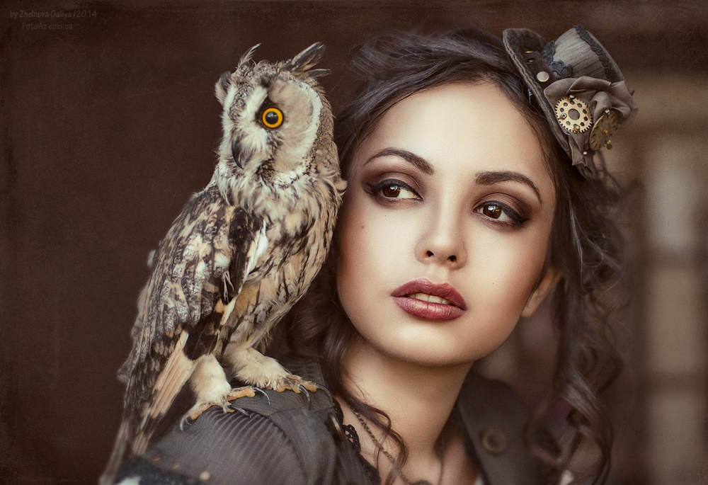 Fascinating portraits by the photographer Galiya Zhelnova - 12