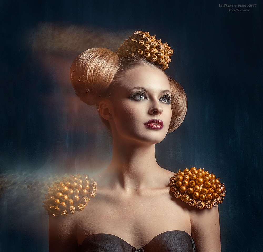 Fascinating portraits by the photographer Galiya Zhelnova - 14