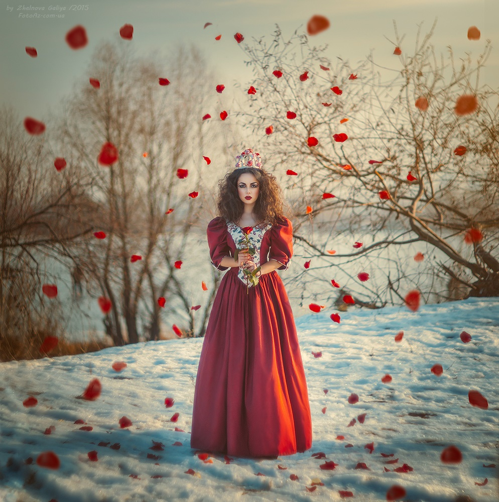 Fascinating portraits by the photographer Galiya Zhelnova - 17